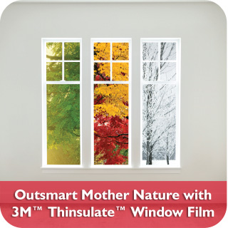 3M Thinsulate™ Window Film
