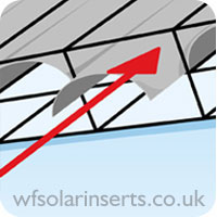 Polycarbonate Solar Conservatory Roof Inserts
